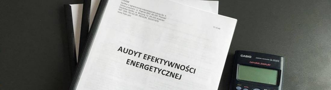 Audyt efektywności energetycznej