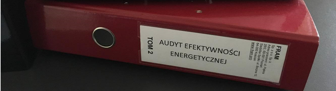 Z cyklu: o audycie efektywności energetycznej – część druga